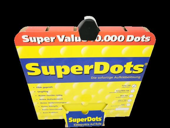 Superdots Doppelseitige Klebepunkte